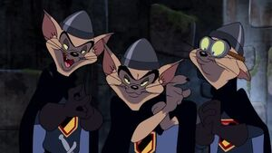 Tin, Pan and Alley in Tom and Jerry Robin Hood and his Merry Mouse