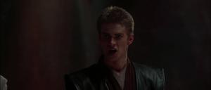 Anakin rushed