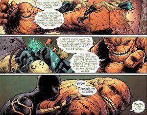 Basil Karlo and Cassandra Cain Prime Earth 0011