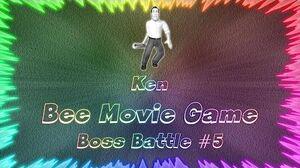 Bee Movie Game ★ Perfect Boss Battle 5 • Ken