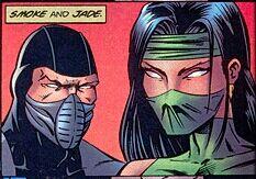 Jade Mortal Kombat comics.