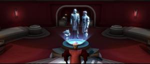 Palpatine Jedi confers