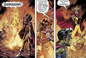 Tara Markov Dark Multiverse Teen Titans The Judas Contract 011