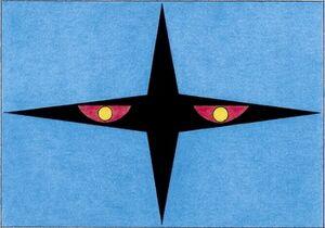 Black cross logo