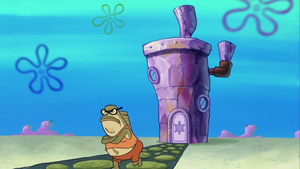 Bubble Bass Leaves His Own House