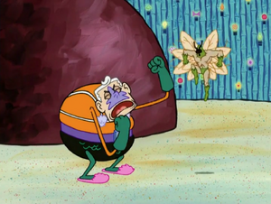 Mermaid Man's Epic Brawl With The Moth