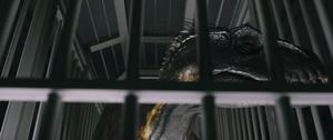 Indoraptor in cage 2