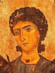 215px-Mestia Museum. Archangel Gabriel. 12th c..jpg
