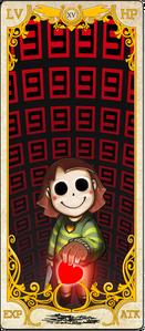 Chara Tarot Card