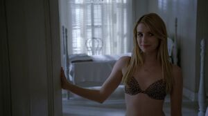 Madison with bra