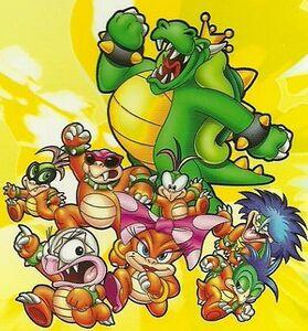 Royal Koopa Family