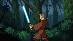 Skywalker jungle stance