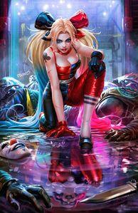 Harley Quinn vol 4 2 textless variant