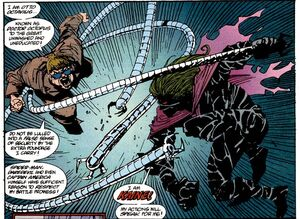 Kaine vs Doc Ock!! Spectaculer Spider-Man 221