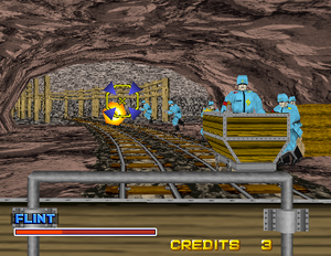 Rail Chase 2 EKKL Soldiers in the Mine Level