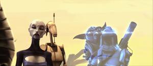 Ventress Yoda comlink