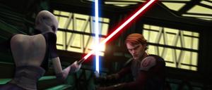 Asajj Skywalker Christophsis clash