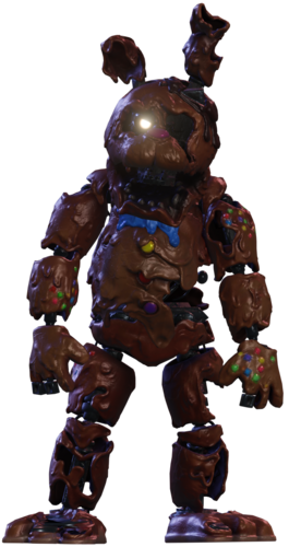 Melted Chocolate Bonnie