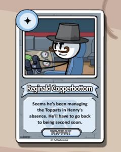 Reginald's bio FtC