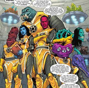 Sinestro Corps Prime Earth 0001