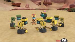 D-Fekt rallies the Cubots