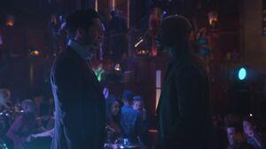 Michael reunites with Amenadiel