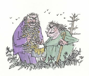Mr. and Mrs. Twit