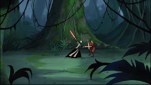 Asajj Skywalker jungle