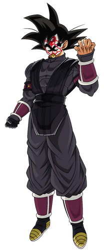 Crimson Masked Saiyan