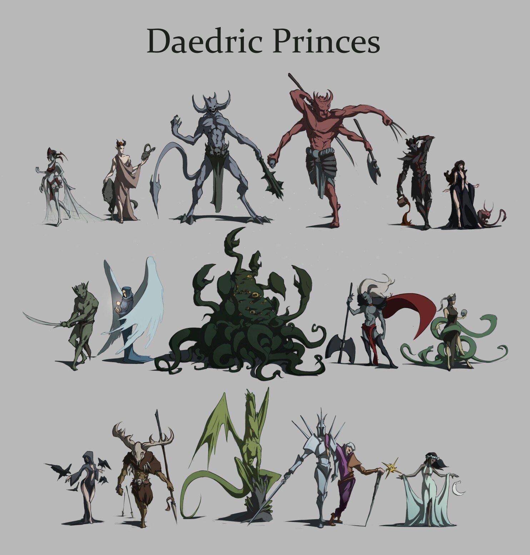 Daedric Princes