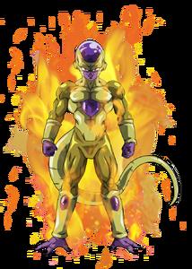 Golden freezer Aura
