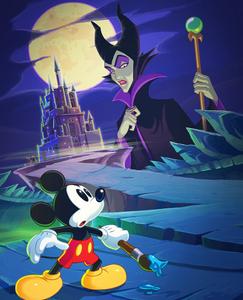 Mickey VS Mizrabel