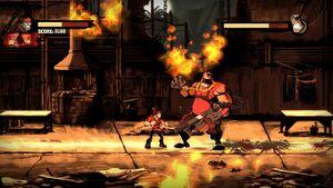Inferno Using Flamethrower 4