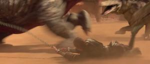 Skywalker dragged