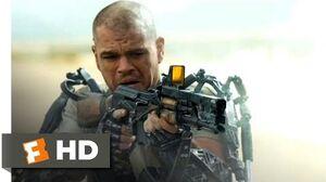 Elysium (2013) - Kruger's Kill Scene (4 10)