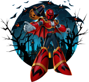 Rockman X DiVE Hunter Program Halloween Vile