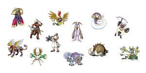 The Digimon Devas