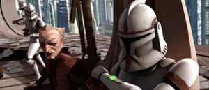 Chancellor Palpatine troopers
