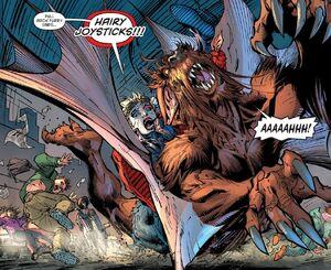 Harley Quinn and Man-Bat Prime Earth 0003