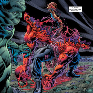 Carl Creel (Earth-616) and Bruce Banner (Earth-616) from Immortal Hulk Vol 1 9 001
