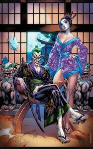 The Joker Vol 2 1 Exclusive J. Scott Campbell Variant C