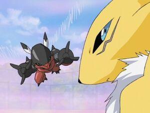 Renamon vs Flybeemon
