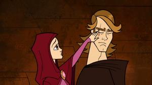 Skywalker Padmé hand