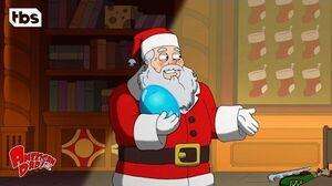 American Dad Santa CLIP TBS