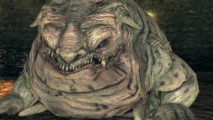 Closeup Covetous Demon