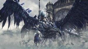 Dark Souls 3 Nameless King and King of the Storm Boss Fight (4K 60fps)