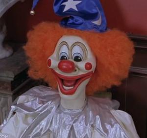 Evil clown doll 1