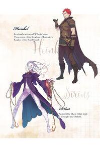 ReZero Volume 16 Heinkel & Sirius Description