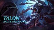 Talon Preseason Spotlight Gameplay - League of Legends