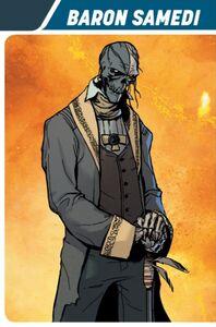 Baron Samedi Valiant comics